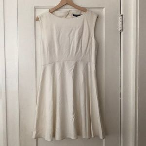 White French Connection Skater Dress